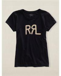 RRL Cotton Graphic Tee - Lyst