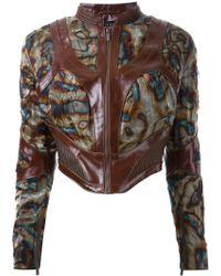 Iris Van Herpen - 'infinity' Biker Jacket - Lyst