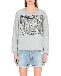 McQ by Alexander McQueen Cotton Manga Sweatshirt - Lyst
