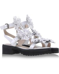 Chloë Sevigny x Opening Ceremony Sandals white - Lyst