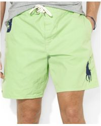 Ralph Lauren Polo Sanibel Big Pony Swim Trunks - Lyst