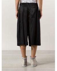 Bernhard Willhelm - Loose Fit Drop-Crotch Shorts - Lyst