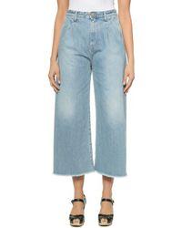 Rodebjer - Mina Jeans - Washed Indigo - Lyst