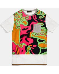 COACH | Psychedelic Swirl Tee Shirt With Band | Lyst