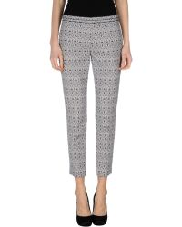 Tory Burch Blue Casual Trouser - Lyst