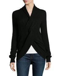 Neiman Marcus | Knot-front Cashmere Sweater | Lyst