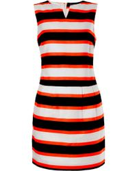 Tommy Hilfiger Umeko Stripe Print Dress - Lyst
