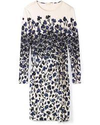 Tory Burch Blue Hayes Dress - Lyst