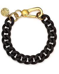 Marc By Marc Jacobs Rubber Chain Bracelet - Lyst