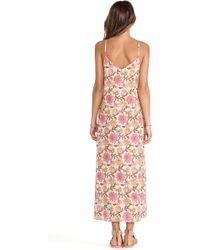Tysa - V-Neck Layering Maxi Dress - Lyst