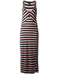 Marc By Marc Jacobs Striped Maxi Dress - Lyst