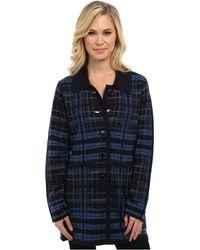Pendleton Petite Sketchbook Sweater Coat - Lyst