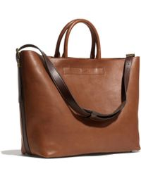 Coach Mercer Craftsman Tote In Leather - Lyst