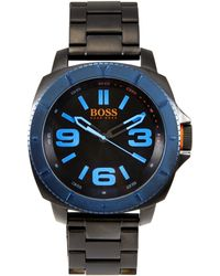 BOSS Orange - 1513160 Black & Blue Watch - Lyst
