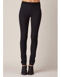 Ann Demeulemeester | Black Blackjack Trousers | Lyst
