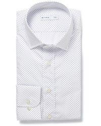 Etro Slim-Fit Printed Cotton Shirt - Lyst