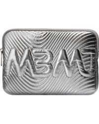 Marc By Marc Jacobs Mini Tablet Case Quilted Mbmj Metallic - Lyst