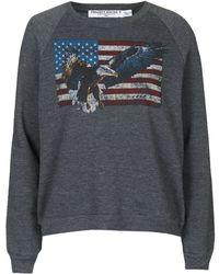 Topshop | Eagle Sweatshirt By Project Social T | Lyst