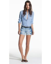Genetic Los Angeles Stevie Cut-Off Shorts - Lyst