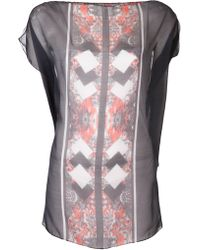 The Textile Rebels - Print Sheer Top - Lyst