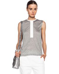 3.1 Phillip Lim Modal-blend Top with Cape Back - Lyst