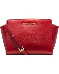 Michael Kors Michael Selma Medium Messenger Bag - Lyst