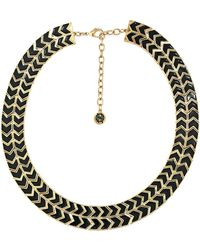 House Of Harlow Blackbird Collar Necklace - Lyst