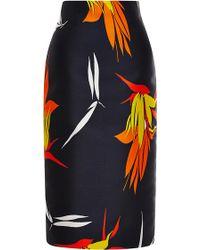 Marni Floral-jacquard Skirt - Lyst