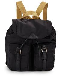 Sam Edelman Metallic Strap Backpack - Lyst