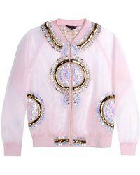 Manish Arora Jacket pink - Lyst