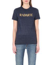 Rodarte Radarte Jersey T-shirt - Lyst