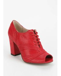 Seychelles Eternity Heeled Oxford - Lyst