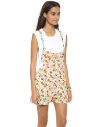 Jen's Pirate Booty Oleander Cut Off Overalls - Lyst