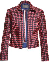 Antipodium - Hot Neon Pink Trading Hours Jacket By - Lyst