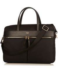 Knomo - Hanover Slim Briefcase For 14 Laptops - Lyst