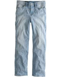 J.Crew Tall Vintage Cropped Jean In Parisi Wash - Lyst