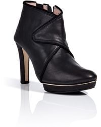 Repetto Agathe Leather Booties - Lyst