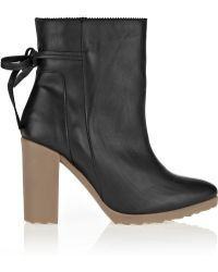 Pierre Hardy Leather Ankle Boots - Lyst