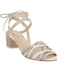Narciso Rodriguez Karung Midheel Sandal - Lyst