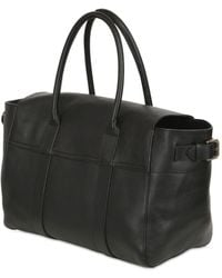 Mulberry | Bayswater Buckled Leather Top Handle Bag | Lyst