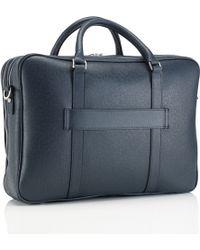 Mark Giusti - Milano Doppio All Leather Laptop Bag - Lyst
