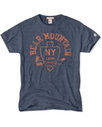 Todd Snyder X Champion Bear Mountain T-Shirt blue - Lyst