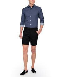 Ovadia And Sons Pierre Silk Shantung Shorts - Lyst