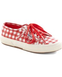 ModCloth Picnic For One Sneaker in Red - Lyst