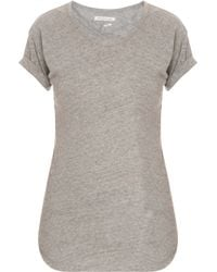 Etoile Isabel Marant Laura Cotton Perfect Top - Lyst