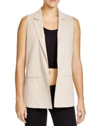 Lush - Split Back Vest - Lyst