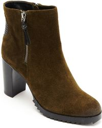 Dolce Vita Icarus Leather Ankle Boots - Lyst