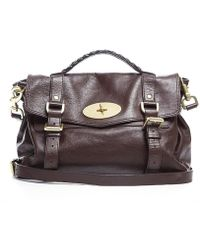 Mulberry Pre-owned Chocolate Brown Soft Buffalo Leather Alexa Bag - Lyst