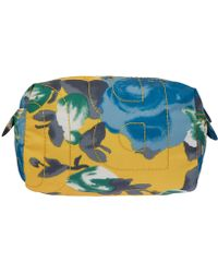 Marc By Marc Jacobs - Yellow Floral Nylon Washbag - Lyst