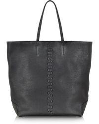 Roberto Cavalli Easy Alce Leather Tote - Lyst